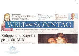 Welt am Sonntag 30.01.2011
