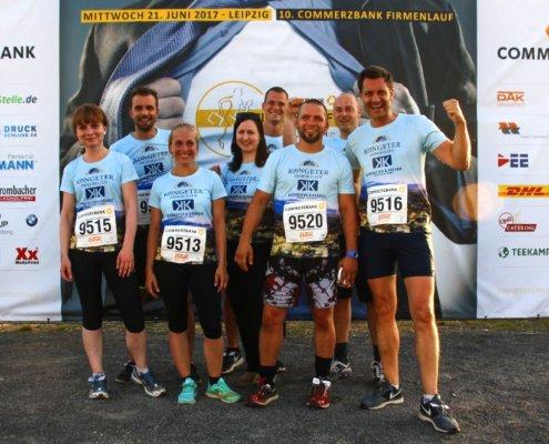 Teamfoto - Commerzbank Firmenlauf 2017