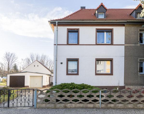 Doppelhaushälfte, Grundstück, Garten, Leipzig, Thekla