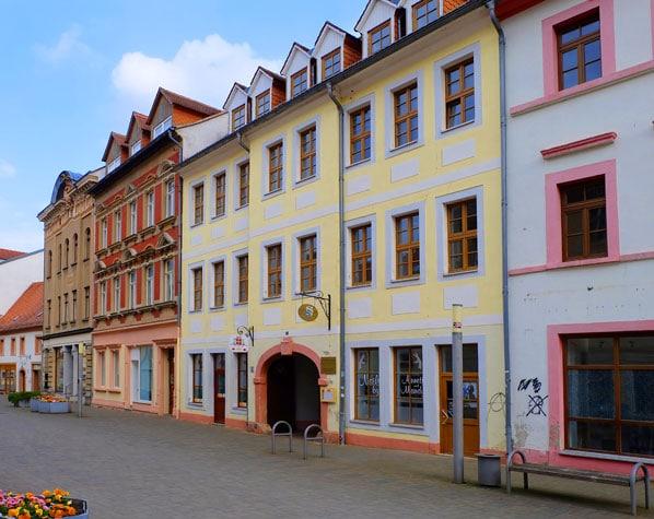 Wohn- und Geschäftshaus, Borna bei Leipzig, Immobilien, Kapitalanlage