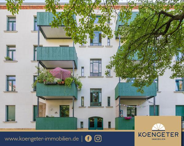 Immobilien, Eigentumswohnung, Leipzig, Wohnung, Verkauf, Gohlis, Connewitz