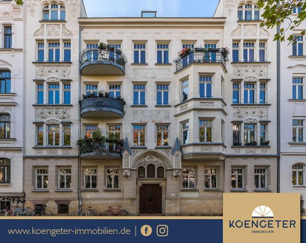 Immobilien, Eigentumswohnung, Leipzig, Wohnung, Verkauf, Gohlis, Südvorstadt