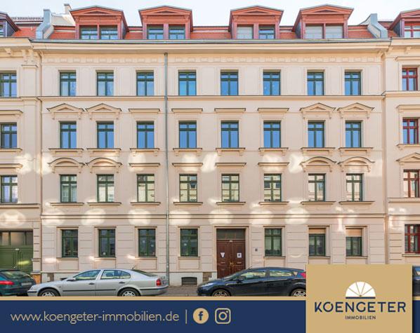 Leipzig, Plagwitz, Denkmalschutz, Fassade, Immobilien, Eigentumswohnung, Leipzig, Wohnung, Verkauf