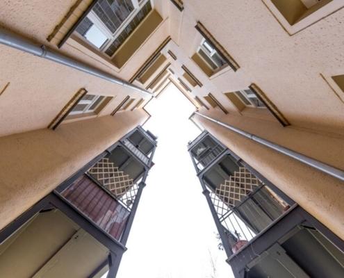 Drohnenaufnahme für Immobilien