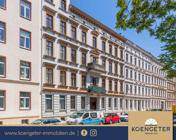 Immobilien, Eigentumswohnung, Leipzig, Wohnung, Verkauf, Zentrum-Nord, Erdgeschosswohnung, Kapitalanlage