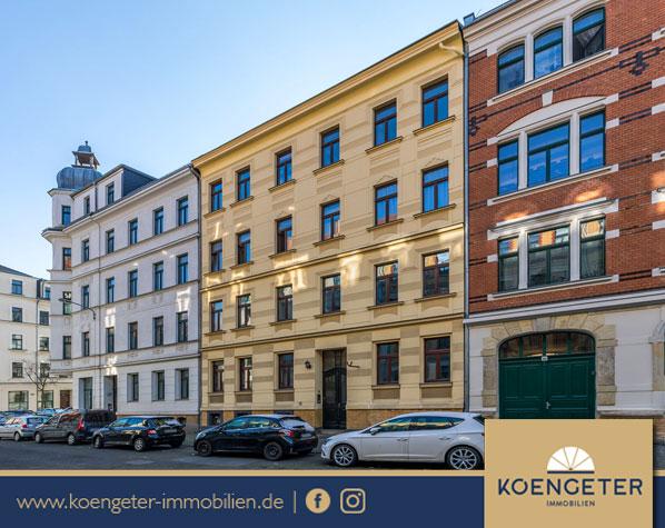 Immobilien, Eigentumswohnung, Leipzig, Wohnung, Verkauf, Leipzig, Stötteritz, Kapitalanlage, Maisonette