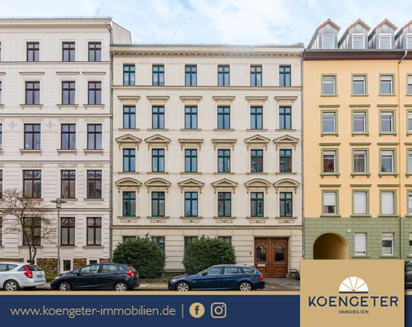 Kapitalanlage, Immobilien, Eigentumswohnung, Leipzig, Wohnung, Verkauf, Zentrum-Südost