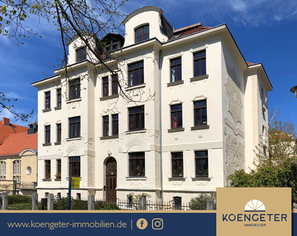 Mehrfamilienhaus, Rendite, Kapitalanlage, Immobilien, Eigentumswohnung, Verkauf, Leipzig, Gohlis
