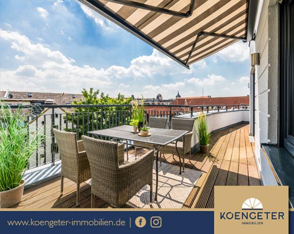 Penthouse, Rendite, Kapitalanlage, Immobilien, Eigentumswohnung, Verkauf, Leipzig, Plagwitz, Exklusiv